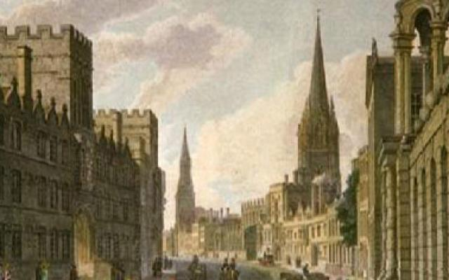 The High, as seen approaching University College