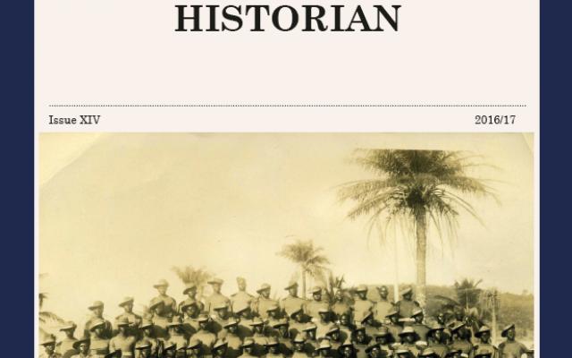 The Oxford Historian, 2016-17