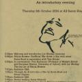 Kingston event programme