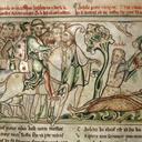 Heraclius Takes Down St. Albans Head - Trinity College, Dublin