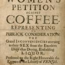 Women against Coffee petition