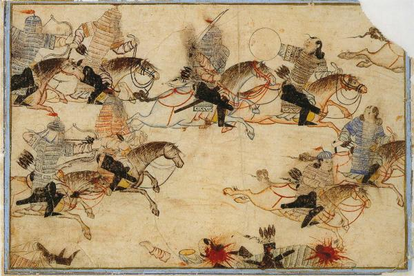 The Mongols at war
