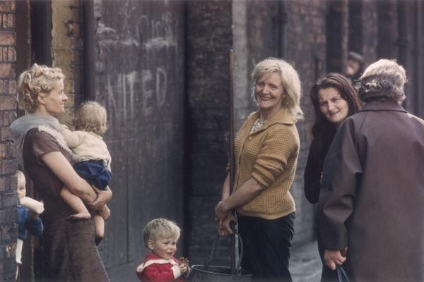 shirley baker women in hulme 1965 march