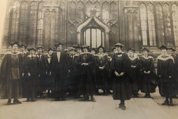 women degree ceremony