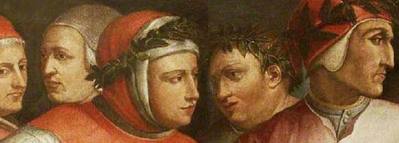 The Oriel Ritaratto di sei poeti toscani (Portrait of Six Tuscan Poets)