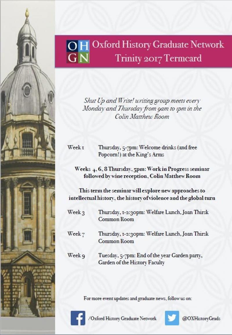 Trinity Term Card