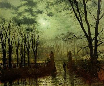 john_atkinson_grimshaw_at_the_park_gate