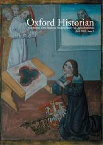 The Oxford Historian Cover, 2003