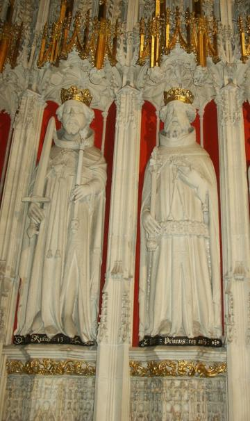 Henry I and William II at York Minster