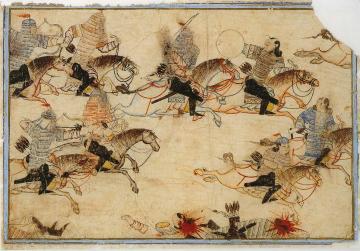 The Mongols at war
