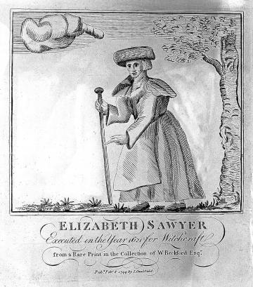 Elizabeth Sawyer, witch