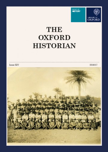 The Oxford Historian, 2016-17