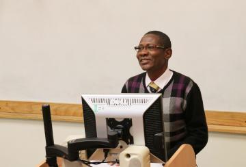 Festo Mkenda, the speaker at the memorial