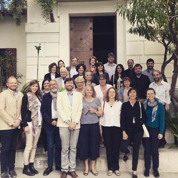 The European network launch at Villa Kerylos