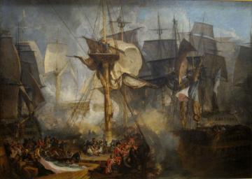 Battle of Trafalgar, by Joseph Turner, 1806–08