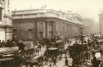 the bank of england london 1885 1895