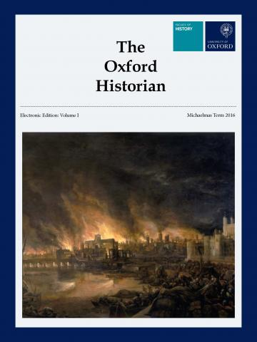 The Oxford Historian: Electronic Edition, Volume I