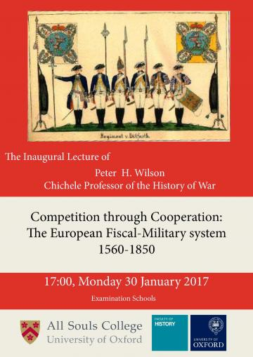 Peter Wilson Inaugural lecture, 30 January 201