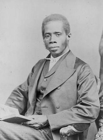 Photographic portrait of Revd. Edward Wilmot Blyden