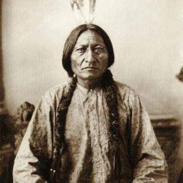 Native American leader Sitting Bull 1883 by D F Barry