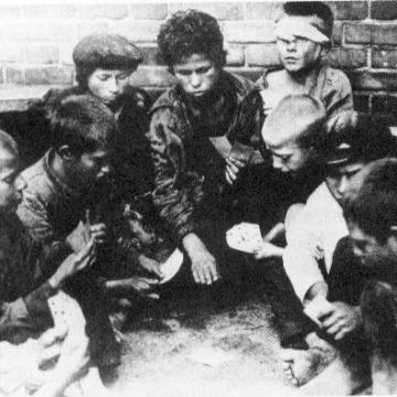 Street Children during the Russian Revolution