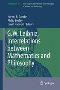 Book Cover for: Interrelations between mathematics  and philosophy