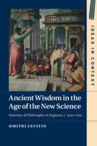Book Cover for Ancient Wisdom in the Age of the New Science""