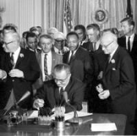 The Signing of the Civil Rights Act