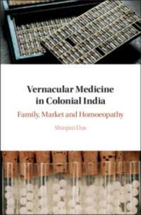 das vernacular medicine in colonial india book cover