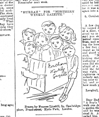 "'""Hurrah"" for ""Northern Weekly Gazette""', Northern Weekly Gazette, 10 November 1900, p.15"