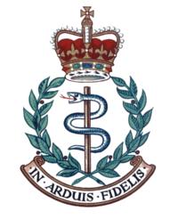 The Royal Army Medical Corps (RAMC) logo