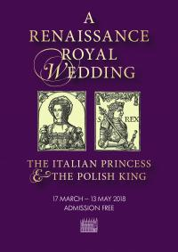 renaissance royal wedding poster