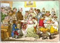 Gilray's Parody of early Vaccination Efforts