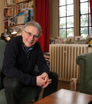 Martin Conway, in his office at Balliol College
